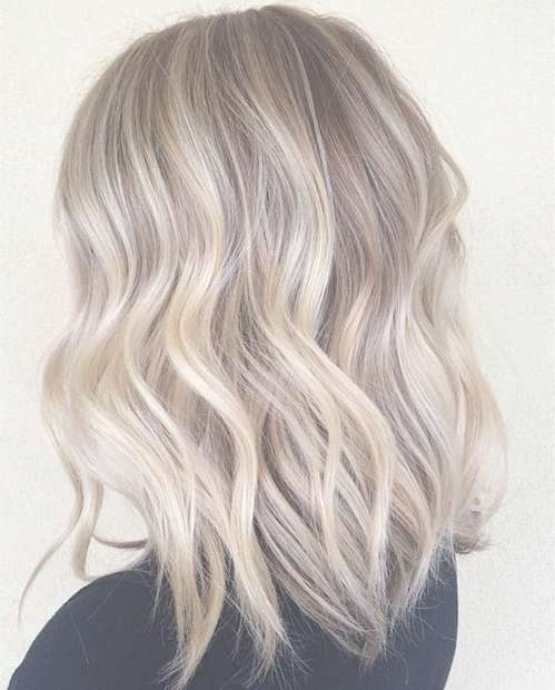 shoulder length ash blonde hair find your perfect hair style
