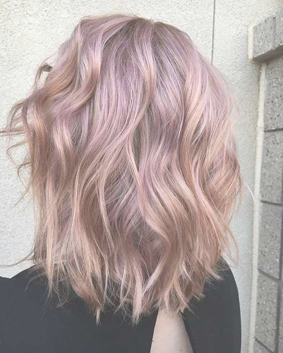 10 Beauty Medium Length Hair Cuts: 2018 Medium Hair Trends For Women Intended For Most Recent Pink Medium Haircuts (View 23 of 25)