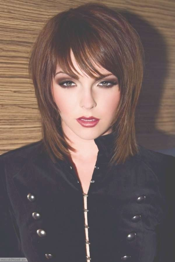 10 Best Medium Emo Hairstyles For Cool Girls In 2018 | Bestpickr In Latest Auburn Medium Haircuts (View 21 of 25)