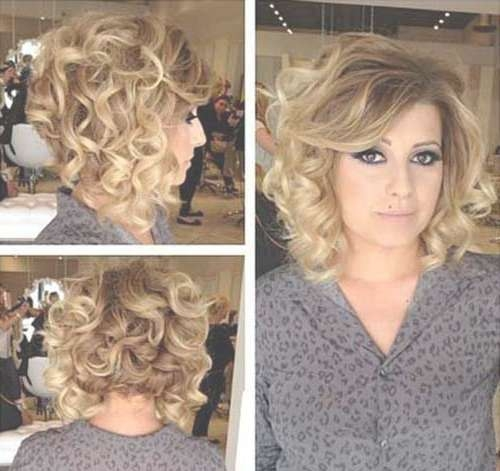 10 Best Short Thick Curly Hairstyles | Short Hairstyles 2016 Inside Most Recently Medium Haircuts For Thick Curly Frizzy Hair (View 22 of 25)