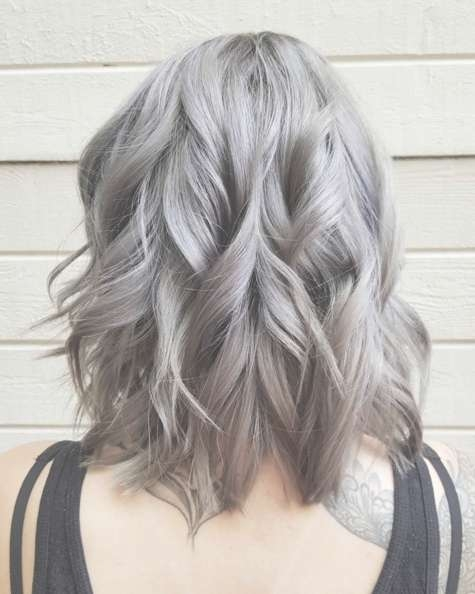 10 Hottest Layered Haircuts For Medium Hair Now – Popular Haircuts Inside Best And Newest Medium Haircuts With Gray Hair (View 17 of 25)