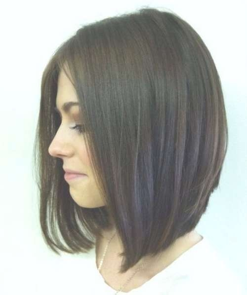 10 Medium Length Haircuts For Thick Hair   Hairstyles Update For Most Recent Medium Haircuts Bobs Thick Hair (View 9 of 25)