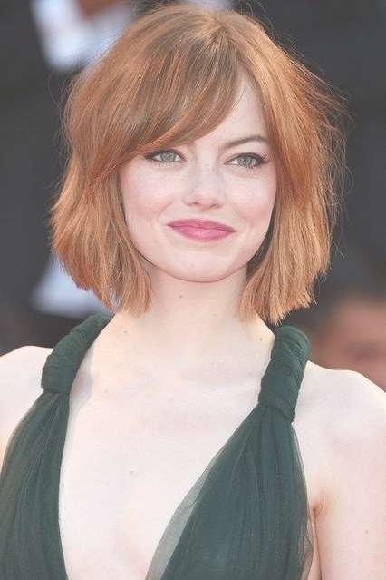10 Medium Length Haircuts For Thick Hair | Hairstyles Update Intended For 2018 Medium Haircuts For Thick Hair With Bangs (View 11 of 25)