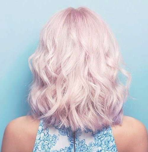 10 New Short Thick Wavy Hairstyles | Short Hairstyles 2016 – 2017 Pertaining To Recent Pink Medium Hairstyles (View 13 of 15)