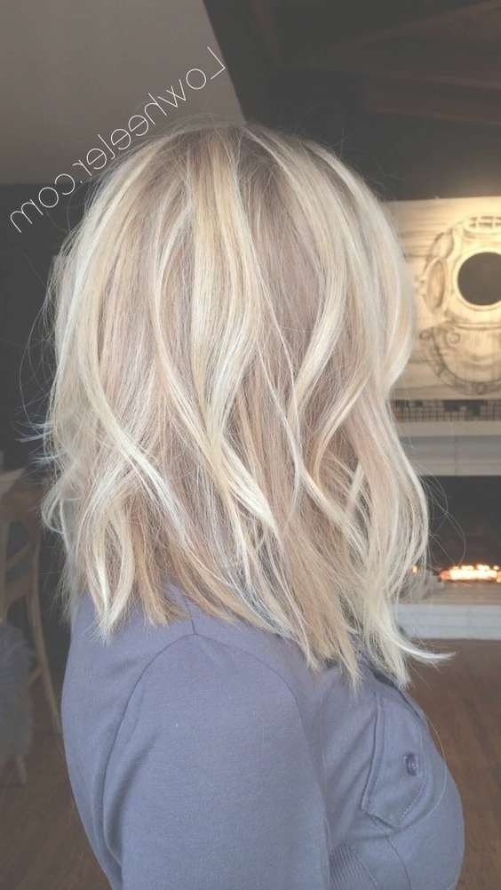 10 Pretty Layered Medium Hairstyles: Women Shoulder Hair Cuts 2018 In Most Popular Layered Medium Hairstyles (View 24 of 25)
