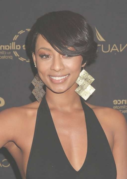 10+ Short Straight Hairstyles For Women – Hairstyles Weekly Intended For Best And Newest Medium Haircuts For African American Women With Round Faces (View 14 of 25)