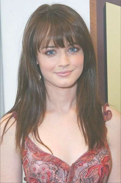 10 Simple Bangs Hairstyles For Medium Length Hair With Regard To Current Fringe Medium Hairstyles (View 3 of 25)