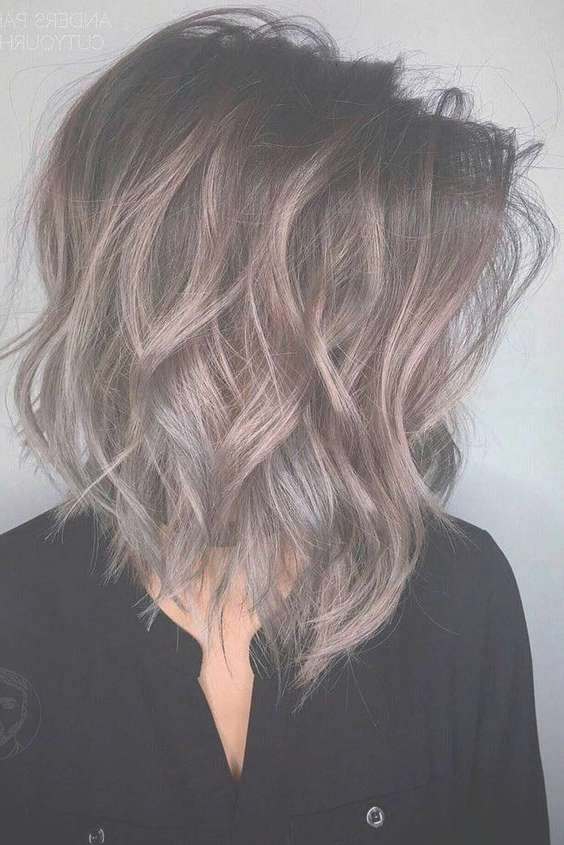 10 Trendy Medium Hairstyles & Top Color Designs, 2018 Medium Haircut With Regard To Latest Medium Hairstyles And Colors (View 13 of 25)