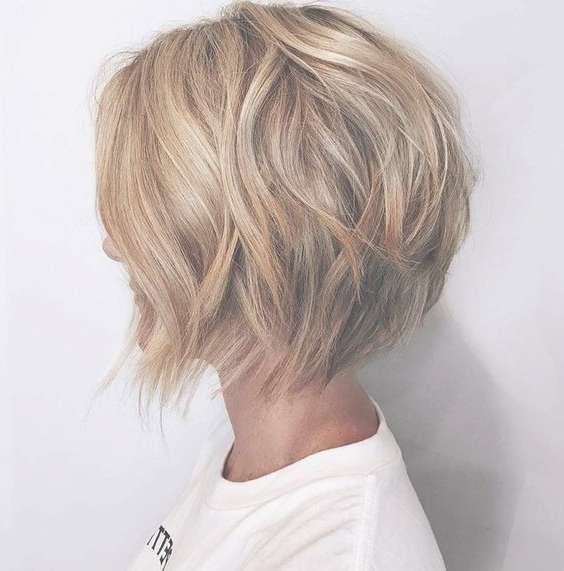 10 Ultra Mod Short Bob Haircut For Women  2018 Short Layered Pertaining To Bob Hairstyles For Women (View 1 of 25)