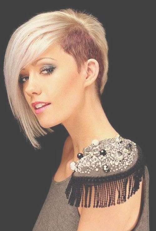 10 Unique Half Bob Hairstyles   Bob Hairstyles 2017 – Short For Unique Bob Hairstyles (View 1 of 25)