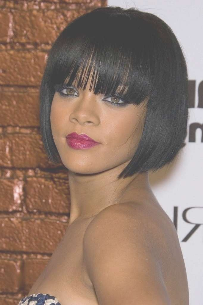 100 Best Top 99 Short Haircuts For Black Women Images On Pinterest In Current Medium Hairstyles For Black Women With Oval Faces (View 10 of 15)