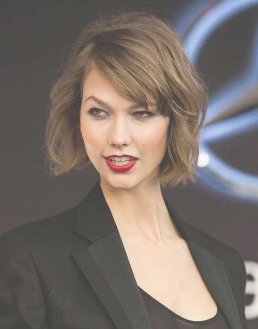 100+ Hottest Short Hairstyles & Haircuts For Women – Pretty Designs Inside Most Recently Karlie Kloss Medium Haircuts (View 15 of 25)
