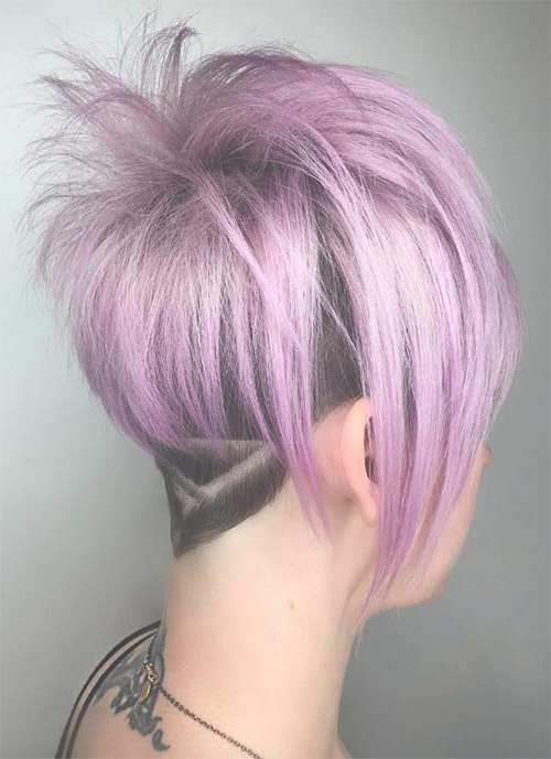 100 Short Hairstyles For Women: Pixie, Bob, Undercut Hair For Current Undercut Medium Hairstyles For Women (View 1 of 25)