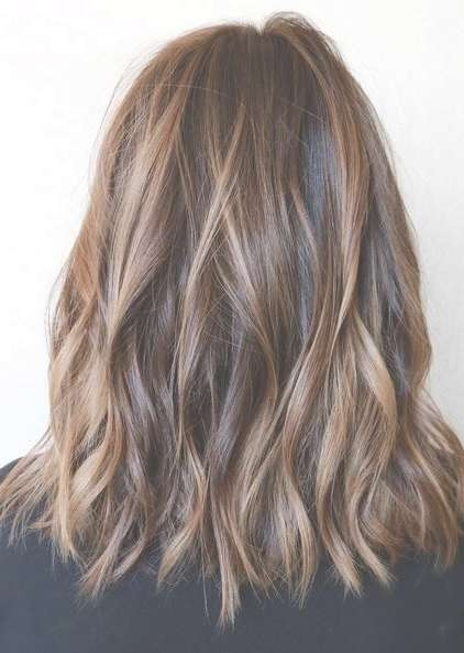 11 Amazing Daily Medium Hairstyles 2018 – Shoulder Length Hair Throughout Newest Medium Hairstyles With Balayage (View 1 of 15)