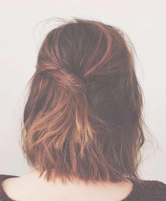11 Spring Perfect Half Up Half Down Hairstyles | Operandi Moda Throughout Half Up Half Down Bob Haircuts (View 5 of 25)