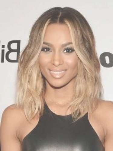 11 Staff Picks For Ciara Blonde Hair Ideas (Ombre Blonde Long Regarding Most Recently Center Part Medium Hairstyles (View 15 of 25)