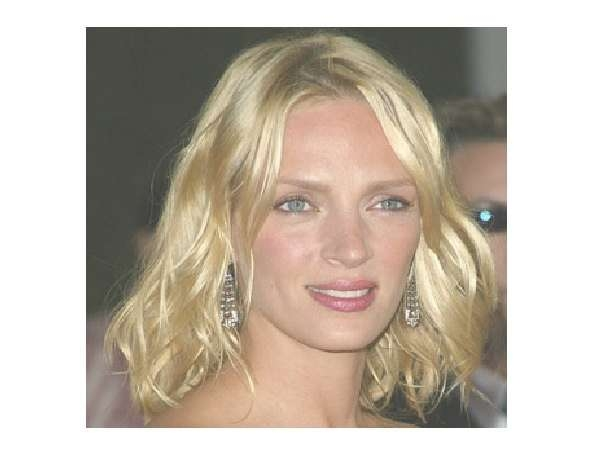 11 Ultimate Uma Thurman Hairstyle Pictures Regarding Uma Thurman Bob Haircuts (View 5 of 25)