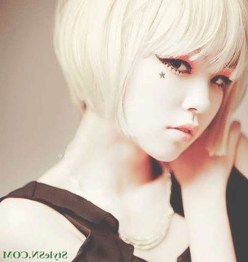 110 Best Bobs Images On Pinterest | Short Bobs, Hair Cut And Short In Anime Bob Haircuts (View 1 of 25)