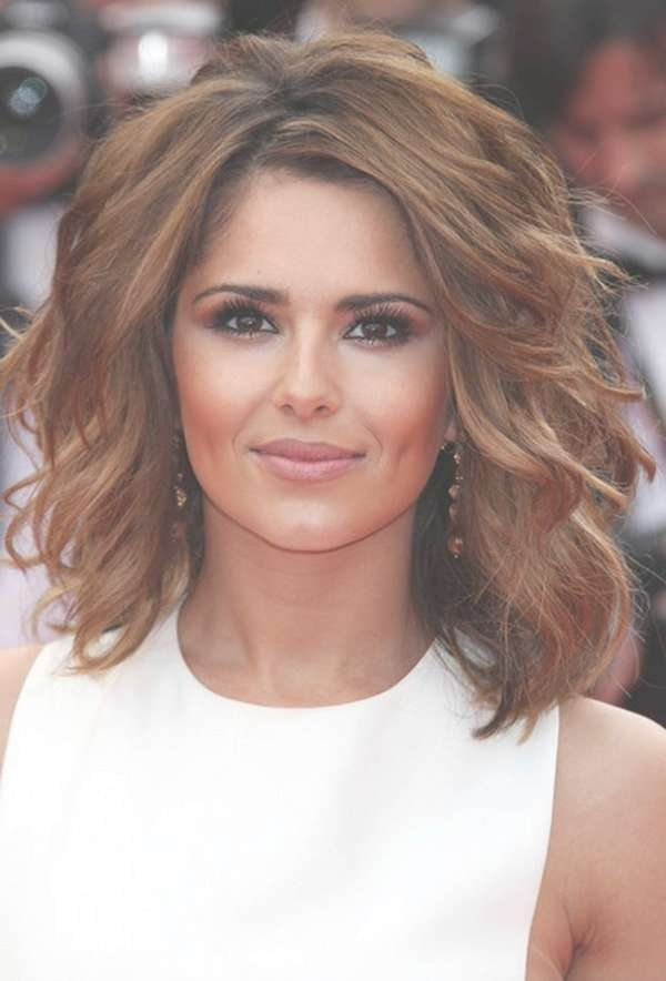 Photo Gallery Of Edgy Medium Haircuts For Thick Hair Showing 14 Of