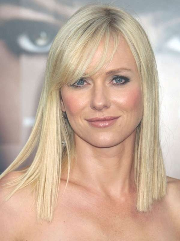 15 Best Collection of Medium Hairstyles For Long Face And Fine Hair