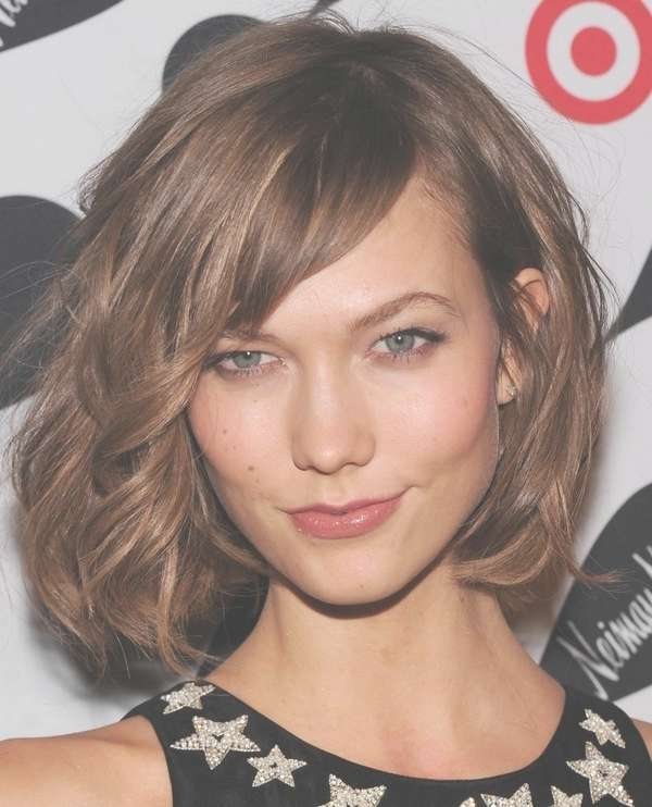 111 Best Layered Haircuts For All Hair Types [2018] – Beautified With Newest Medium Haircuts With Long Side Bangs (View 19 of 25)