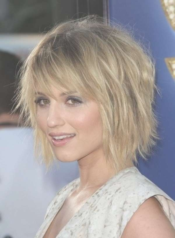 Image Gallery Of Medium Hairstyles With Choppy Layers View 18 Of 25