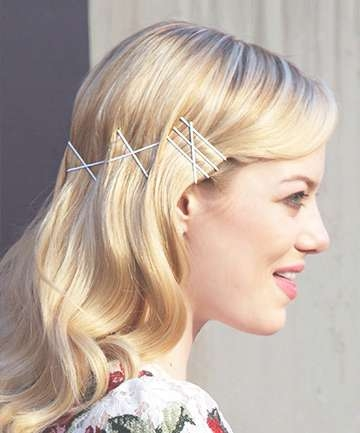 12 Easy Bobby Pin Hairstyles To Up Your Hair Game Pertaining To Most Current Medium Hairstyles With Bobby Pins (View 3 of 25)