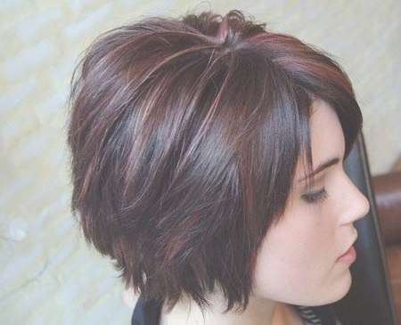12 Fabulous Short Layered Bob Hairstyles – Pretty Designs Throughout Bob Haircuts With Layers (View 3 of 25)