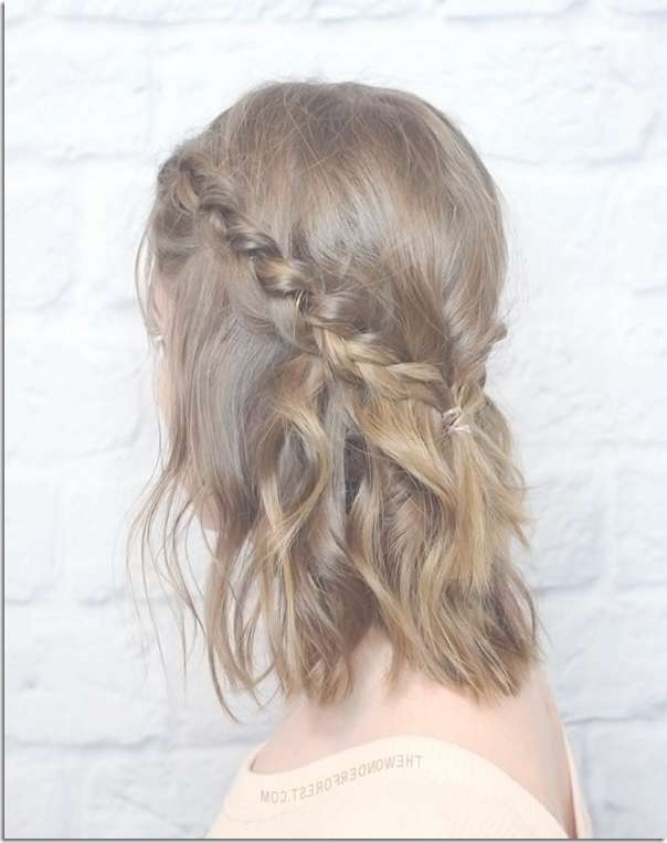 12 Prom Hairstyles For Shorter Hair – Hairlori In Best And Newest Medium Haircuts For Prom (View 15 of 25)