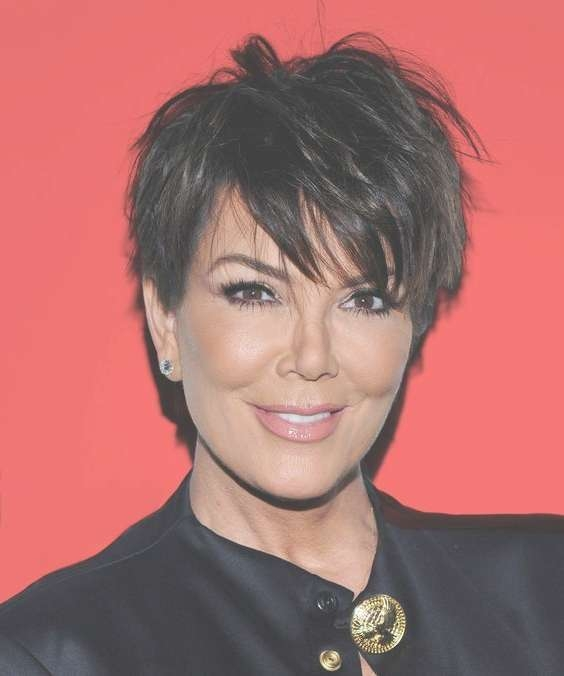 12 Ways Kris Jenner Wore Her Infamous Haircut Intended For Current Medium Haircuts Kris Jenner (View 6 of 25)