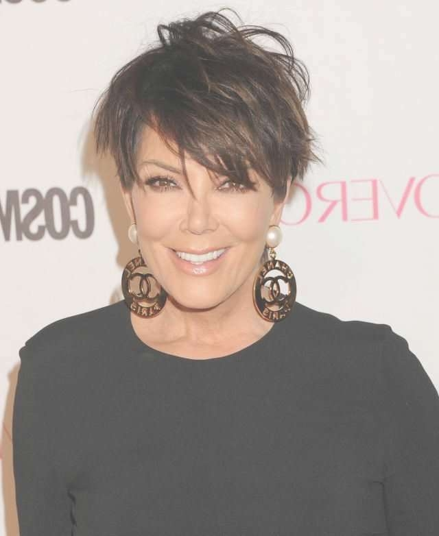 12 Ways Kris Jenner Wore Her Infamous Haircut Regarding Most Current Kris Jenner Medium Haircuts (View 17 of 25)