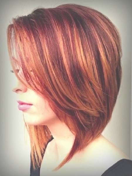 129 Best Hair Images On Pinterest | Hair Colors, Hair Ideas And Regarding Most Current Medium Haircuts With Red And Blonde Highlights (View 3 of 25)