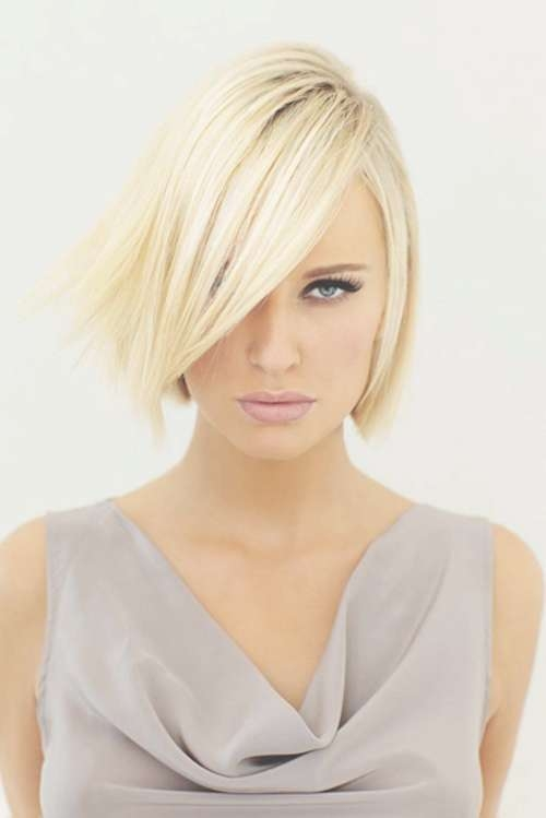 13 Amazing Bob Hairstyles With Bangs – Be Modish For Bob Haircuts Without Fringe (View 3 of 25)