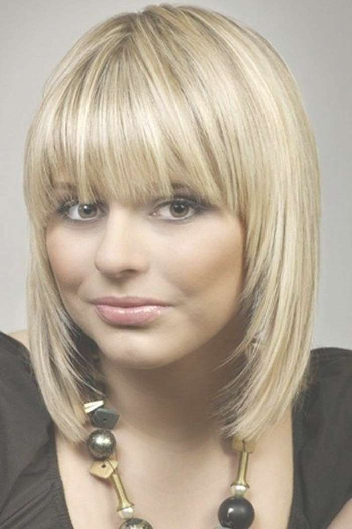 13 Fabulous Medium Hairstyles With Bangs – Pretty Designs Pertaining To Most Popular Medium Haircuts Styles With Bangs (View 4 of 25)