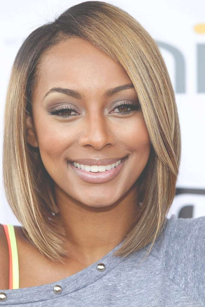 13 Fabulous Short Bob Hairstyles For Black Women – Pretty Designs Regarding Most Popular Medium Hairstyles With Color For Black Women (View 1 of 15)