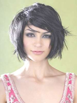 14 Fabulous Short Hairstyles For Round Faces With Current Edgy Medium Hairstyles For Round Faces (View 2 of 15)