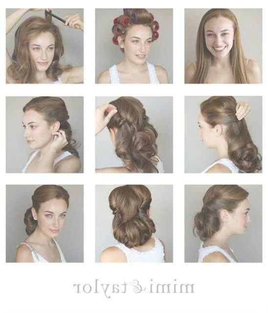 14 Glamorous Retro Hairstyle Tutorials – Pretty Designs Regarding Most Popular 1950S Medium Hairstyles (View 24 of 25)