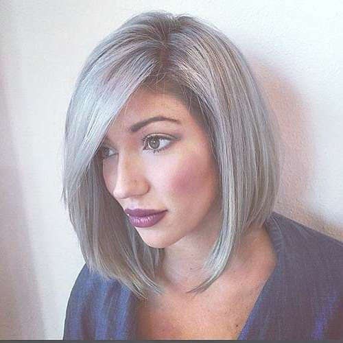 14 Short Hairstyles For Gray Hair | Short Hairstyles 2016 – 2017 In Latest Medium Haircuts For Grey Hair (View 9 of 25)