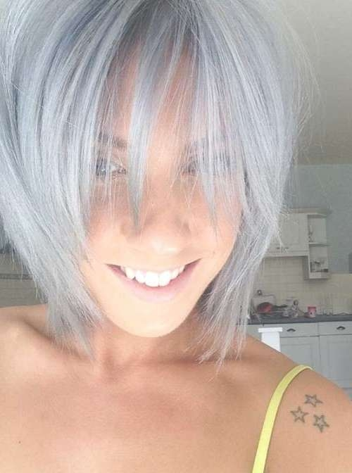 14 Short Hairstyles For Gray Hair | Short Hairstyles 2016 – 2017 In Recent Medium Haircuts For Gray Hair (View 11 of 25)