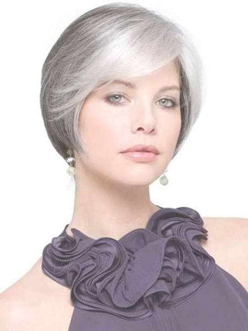14 Short Hairstyles For Gray Hair | Short Hairstyles 2016 – 2017 Pertaining To Best And Newest Medium Haircuts For Coarse Gray Hair (View 10 of 25)