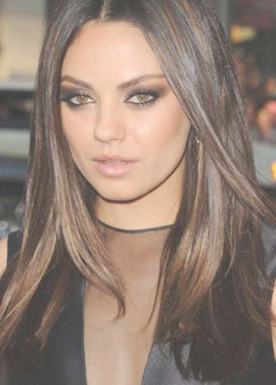 14 Trendy Mila Kunis Hairstyles For You Try It Today ! Throughout Most Current Mila Kunis Medium Hairstyles (View 18 of 25)