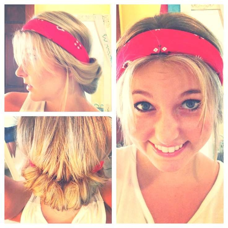 14 Tutorials For Bandana Hairstyles – Pretty Designs Intended For Most Recently Medium Hairstyles With Bandanas (View 2 of 15)