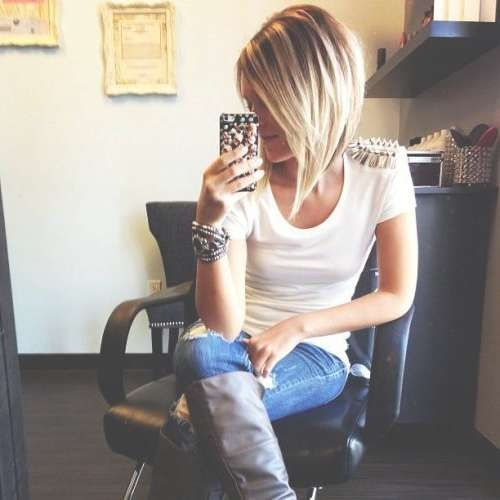 143 Best Short Hair Styles Images On Pinterest | Hair Styles In Recent Medium Haircuts For Women In Their 30S (View 6 of 25)