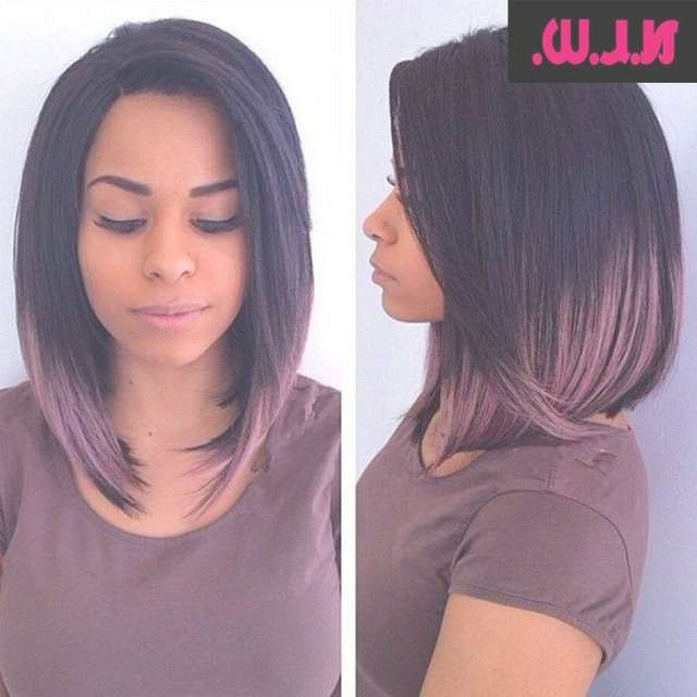 148 Best Hair Images On Pinterest | Make Up Looks, Short Hair And Intended For Latest Medium Hairstyles With Color For Black Women (View 13 of 15)