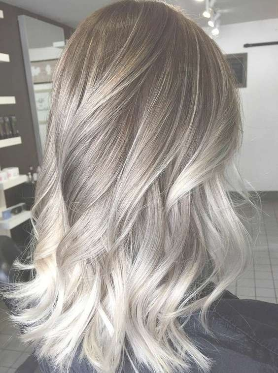 View Gallery Of Ash Blonde Medium Hairstyles Showing 4 Of 15 Photos
