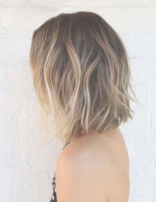 15 Balayage Bob Haircuts | Bob Hairstyles 2017 – Short Hairstyles In Recent Medium Hairstyles With Balayage (View 2 of 15)