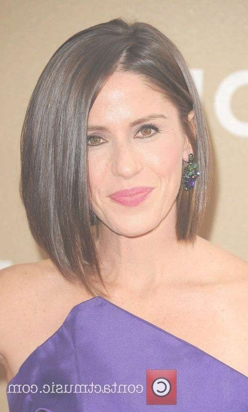 15 Best Asymmetrical Bob Hairstyles | Short Hairstyles 2016 – 2017 Inside One Side Longer Bob Haircuts (View 4 of 25)