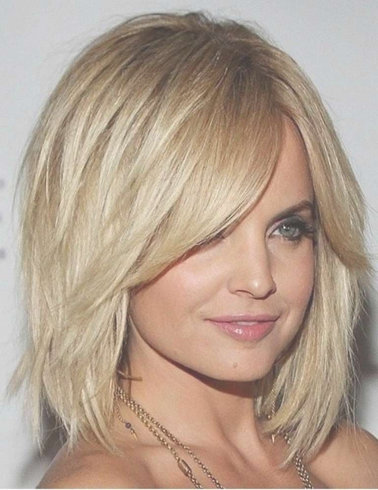 15 Best Collection Of Short Medium Hairstyles For Round Faces With Most Up To Date Medium To Medium Hairstyles For Round Faces (View 10 of 25)