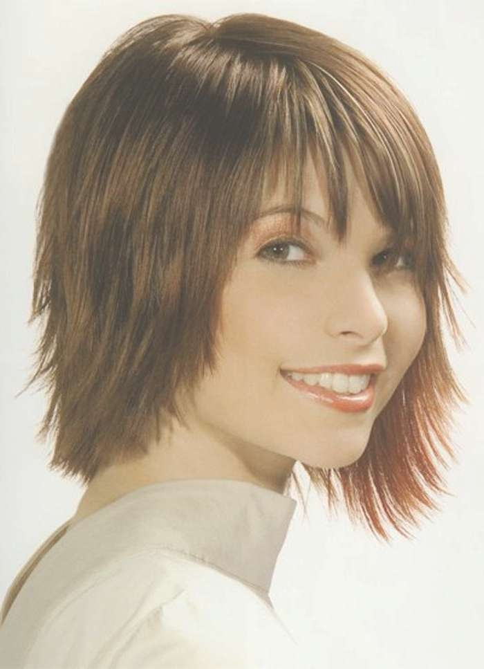 15 Best Collection Of Short To Medium Hairstyles With Bangs Pertaining To Most Popular Medium Hairstyles With Short Bangs (View 11 of 25)
