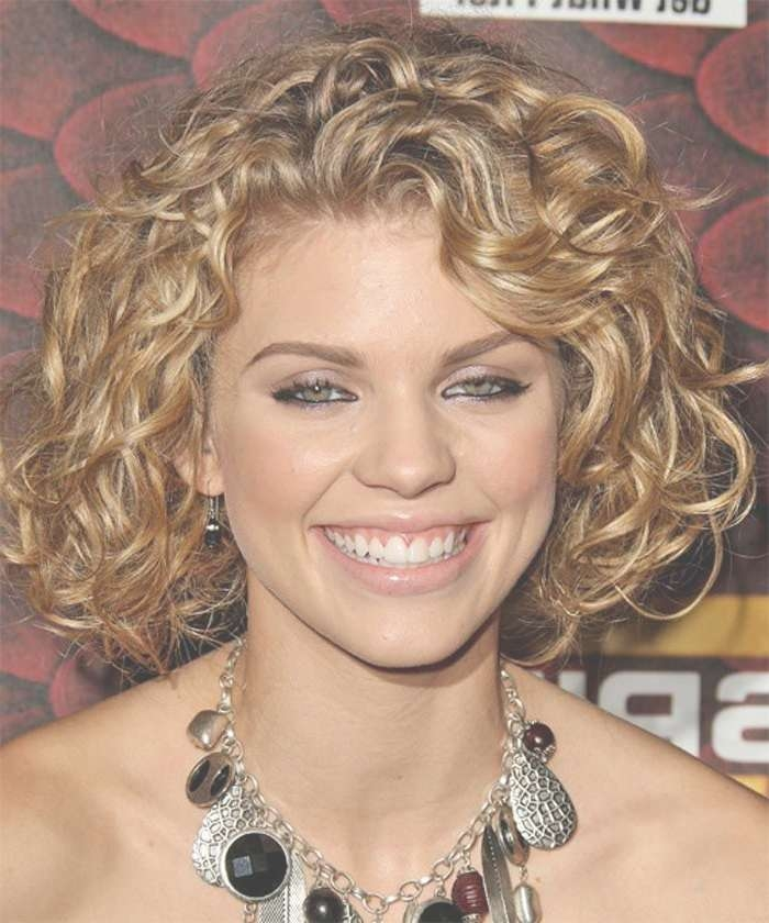 15 Best Hair Styles For Curly Hair Images On Pinterest | Hair Cut Within Most Recently Medium Haircuts Curly Hair Round Face (View 2 of 25)
